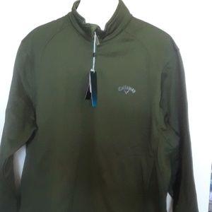 NWT Callaway Weather Series Golf Sweatshirt M